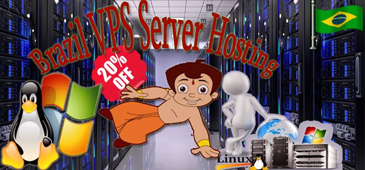 Brazil VPS Server Hosting