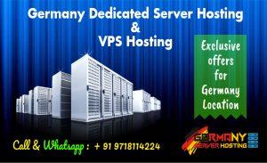 Germany Dedicated Server Hosting and VPS Server Hosting Plans