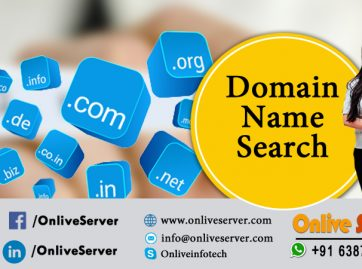Domain Name Search - Onlive Server